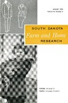 South Dakota Farm and Home Research