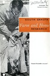 South Dakota Farm and Home Research by Agricultural Experiment Station