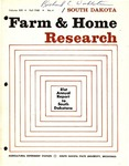 South Dakota Farm and Home Research: 81st Annual Report to South Dakotans