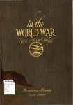In The World War,  1917-1918-1919, Brookings County, South Dakota