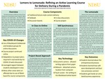 Lemons to Lemonade: Refining an Active Learning Course for Delivery During a Pandemic by Jeremy Straub