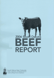 South Dakota Beef Report, 2006