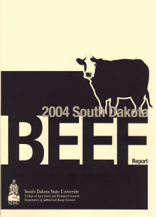 South Dakota Beef Report, 2004