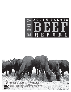 South Dakota Beef Report, 2007