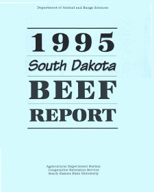 South Dakota Beef Report, 1995