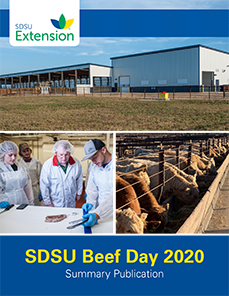 SDSU Beef Day 2020 Summary Publication
