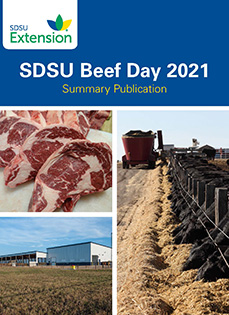 SDSU Beef Day 2021 Summary Publication