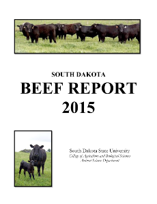 South Dakota Beef Report, 2015