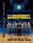 '07-08 Jackrabbit Basketball : South Dakota State 2007-08 Media Guide by South Dakota State University