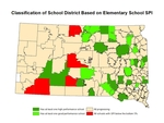 Classification of School District Based on Elementary School SPI by Census Data Center