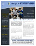 College of Natural Sciences Newsletter, March 2020 by College Of Natural Sciences