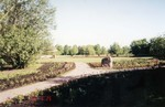 N.E. Hansen Memorial Garden at McCrory Gardens in Brookings, South Dakota in 1996