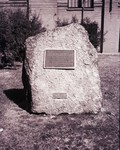 Memorial dedicated to N.E. Hansen at South Dakota State College in 1949