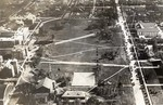 Aerial view of South Dakota State College, circa 1921