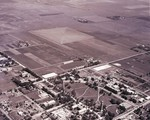 Aerial view of South Dakota State College, circa 1930s
