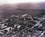 Aerial view of South Dakota State College, 1942