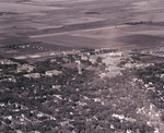 Aerial view of South Dakota State College, 1949