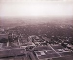 Aerial view of South Dakota State College, 1956