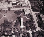 Aerial view of South Dakota State College, 1960