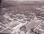 Aerial view of South Dakota State College, 1961