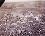 Aerial view of South Dakota State College, 1962