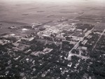 Aerial view of South Dakota State College, 1963