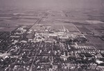 Aerial view of South Dakota State University, 1964
