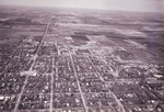 Aerial view of South Dakota State University, 1965