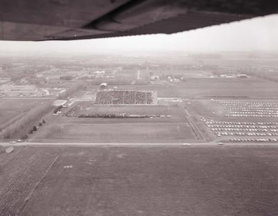Coughlin-Alumni Stadium at South Dakota State University, 1965