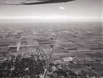 Aerial view of Brookings, South Dakota, 1967