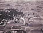 Aerial View of the Campus at South Dakota State University and Brookings, South Dakota