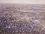 Aerial view of South Dakota State University, 1968