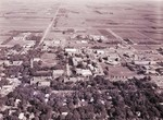 Aerial view of South Dakota State University, 1972