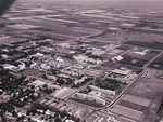 Aerial view of South Dakota State University, 1975