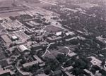 Aerial view of South Dakota State University, 1978