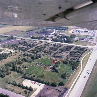 McCrory Gardens Aerial View, 1978
