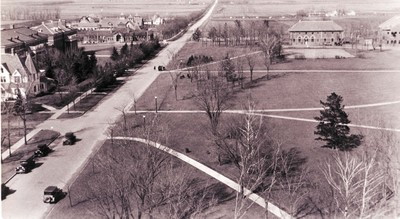 Early Campus Scene Looking Northwest