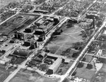 Aerial view of South Dakota State University