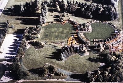 McCrory Gardens Aerial View, 1985