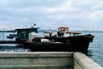 Boat in Havana Bay