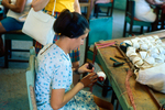 Baseball factory worker in Cuba by South Dakota State University