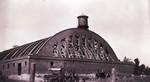 Armory construction at South Dakota State College, 1918 by South Dakota State University