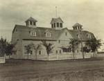 Dairy barn at South Dakota State College, 1925 by South Dakota State University