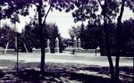South Dakota State College campus gateway, 1927 by South Dakota State University