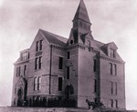 Old Central at Dakota Agricultural College, 1884 by South Dakota State University