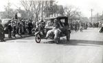 Bummobile in Hobo Day parade, 1939