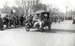 Bummobile in Hobo Day parade, 1939