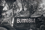 Bummobile with Dwight D. Eisenhower