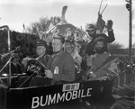 Bummobile with Christy, 1957