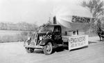 Engineering parade float, 1939